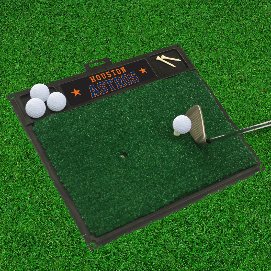 Houston Astros Golf Hitting Mat 20