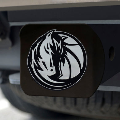 Dallas Mavericks Black Hitch Cover