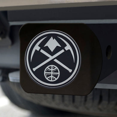 Denver Nuggets Black Hitch Cover