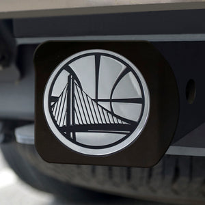 Golden State Warriors Black Hitch Cover