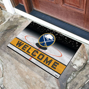 "Buffalo Sabres Crumb Rubber Door Mat - 18""x30"""