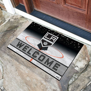 "Los Angeles Kings Crumb Rubber Door Mat - 18""x30"""