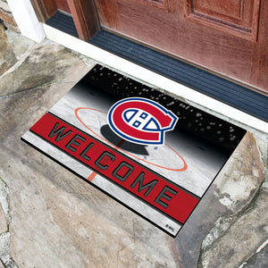"Montreal Canadiens Crumb Rubber Door Mat - 18""x30"""