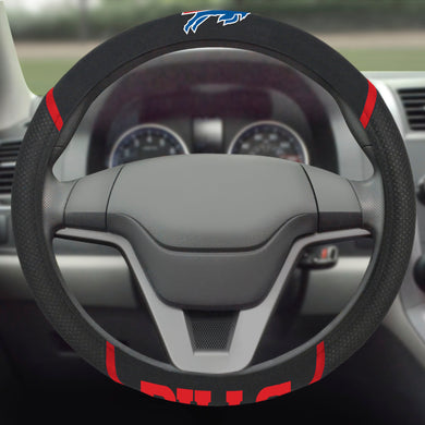 Buffalo Bills Color Steering Wheel Cover