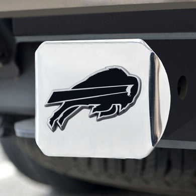 Buffalo Bills Chrome Emblem on Chrome Hitch Cover