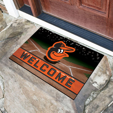 Baltimore Orioles Crumb Rubber Door Mat - 18