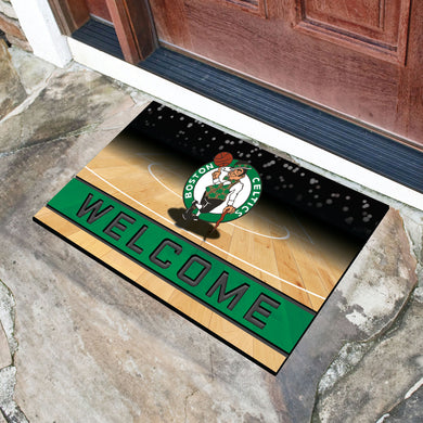 Boston Celtics Crumb Rubber Door Mat - 18