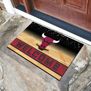 "Chicago Bulls Crumb Rubber Door Mat - 18""x30"""