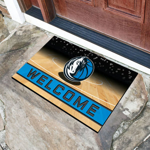 "Dallas Mavericks Crumb Rubber Door Mat - 18""x30"""