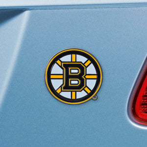 Boston Bruins Color Auto Emblem