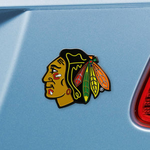 Chicago Blackhawks Color Auto Emblem