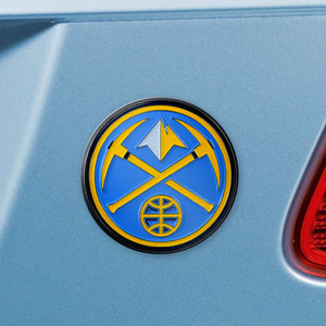 Denver Nuggets Color Auto Emblem