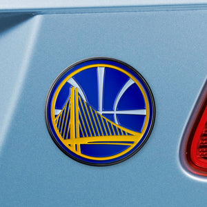 Golden State Warriors Color Auto Emblem