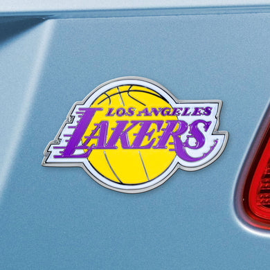 Los Angeles Lakers Color Auto Emblem