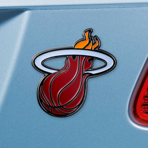 Miami Heat Color Auto Emblem