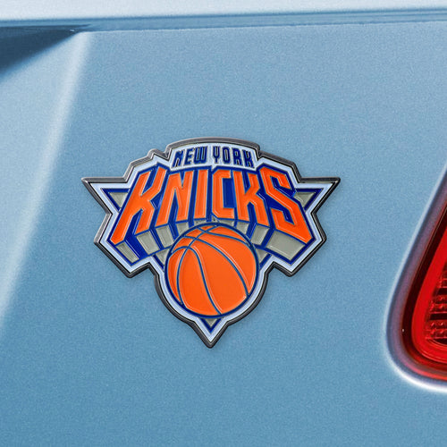 New York Knicks Color Auto Emblem