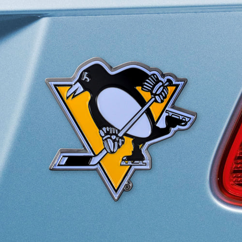 Pittsburgh Penguins Color Auto Emblem
