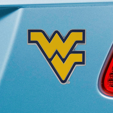 West Virginia Mountaineers Color Emblem