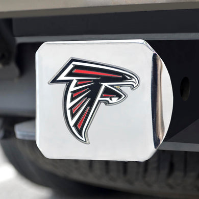 Atlanta Falcons Color Chrome Hitch Cover