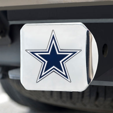 Dallas Cowboys Color Chrome Hitch Cover