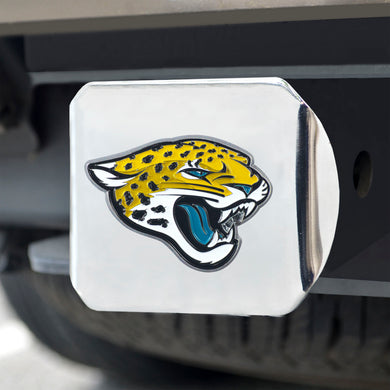 Jacksonville Jaguars Color Chrome Hitch Cover