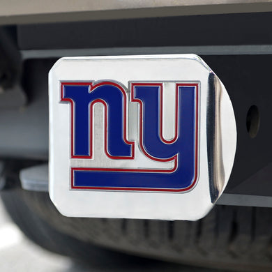 New York Giants Color Chrome Hitch Cover
