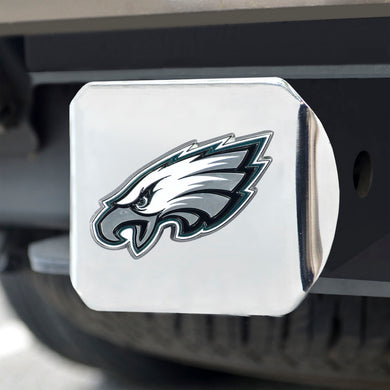 Philadelphia Eagles Color Chrome Hitch Cover