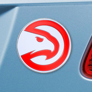 Atlanta Hawks Color Auto Emblem