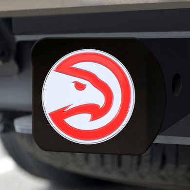 Atlanta Hawks Black Color Hitch Cover