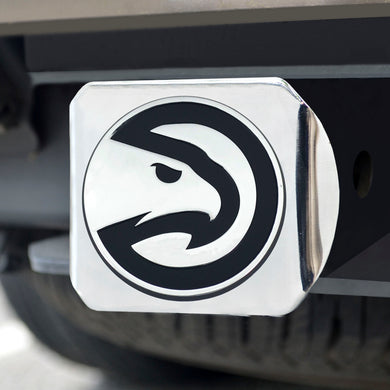 Atlanta Hawks Chrome Hitch Cover