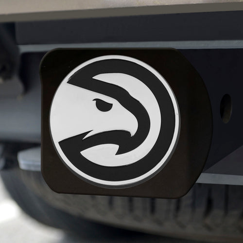 Atlanta Hawks Black Hitch Cover