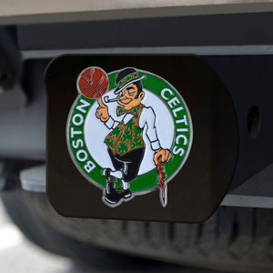 Boston Celtics Black Color Hitch Cover