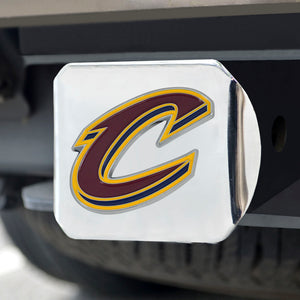Cleveland Cavaliers Chrome Hitch Cover