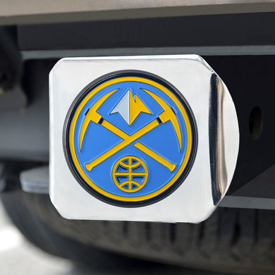 Denver Nuggets Color Chrome Hitch Cover