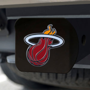Miami Heat Black Color Hitch Cover