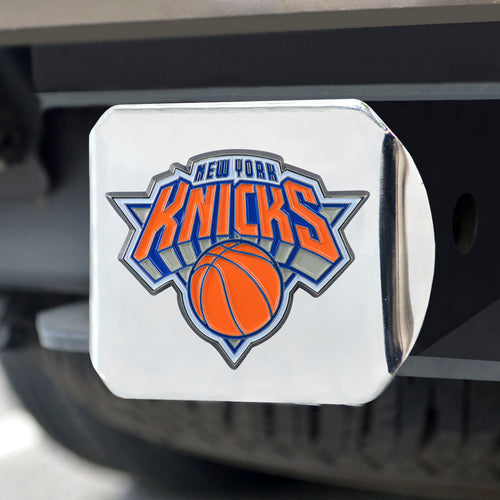 New York Knicks Color Chrome Hitch Cover