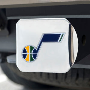 Utah Jazz Chrome Hitch Cover