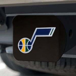 Utah Jazz Black Color Hitch Cover