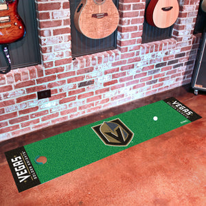"Vegas Golden Knights  Putting Green Runner 18""x72"""