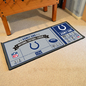 "Indianapolis Colts Football Ticket Runner - 30""x72"""