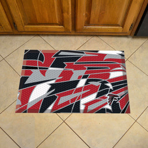 "Arizona Cardinals Scraper Logo Doormat - 19""x30"""