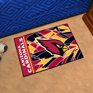 "Arizona Cardinals Quick Snap Starter Rug - 19""x30"""