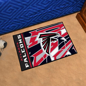 "Atlanta Falcons Quick Snap Starter Rug - 19""x30"""
