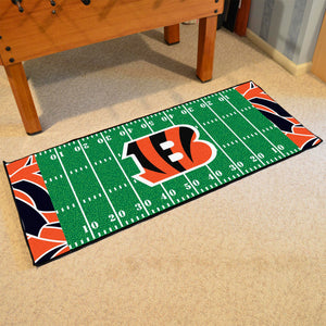 "Cincinnati Bengals Quick Snap Runner 30""x72"""
