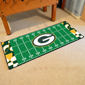 "Green Bay Packers Quick Snap Runner 30""x72"""