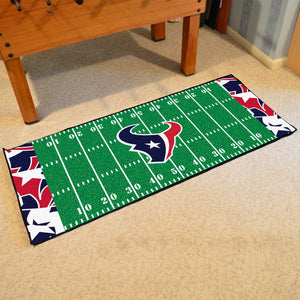 "Houston Texans Quick Snap Runner 30""x72"""