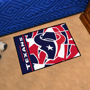 "Houston Texans Quick Snap Starter Rug - 19""x30"""