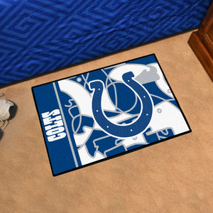 "Indianapolis Colts Quick Snap Starter Rug - 19""x30"""
