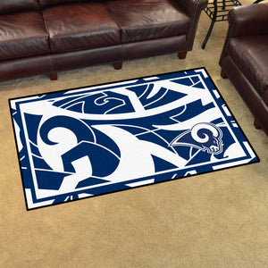 Los Angeles Rams Quick Snap Ultra Plush Area Rugs ...