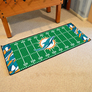 "Miami Dolphins Quick Snap Runner 30""x72"""